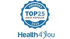 Health4You Most Popular 2018 Award